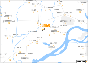 map of Mounds