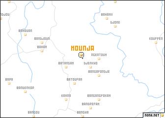 map of Mounja