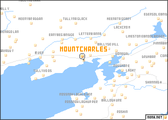 map of Mountcharles