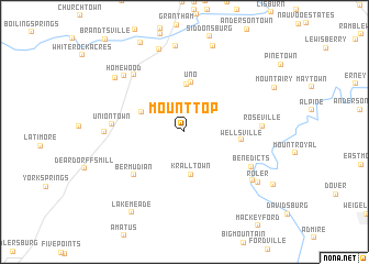 map of Mount Top