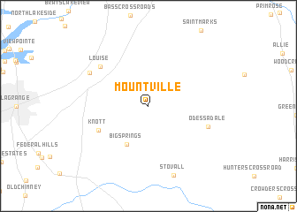 map of Mountville
