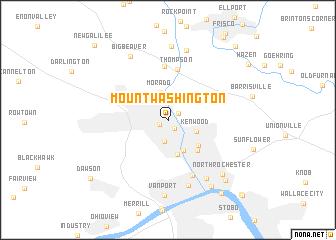 Mount Washington United States USA Map Nonanet - Washington on us map