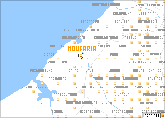 map of Mouraria