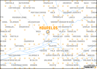 map of Mourelos