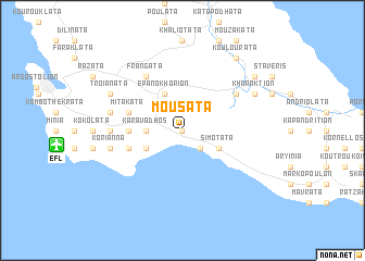 map of Mousáta
