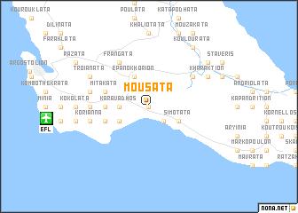 map of Mousáta