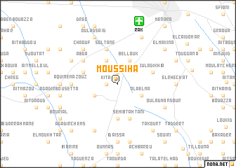 map of Moussiha