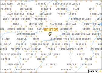 map of Moutas