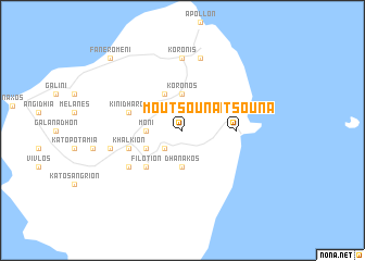map of Moutsoúna