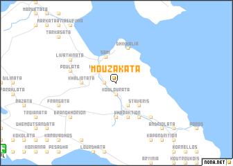 map of Mouzakáta