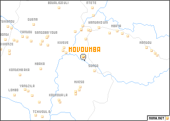 map of Movoumba