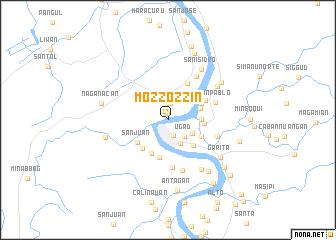 map of Mozzozzin