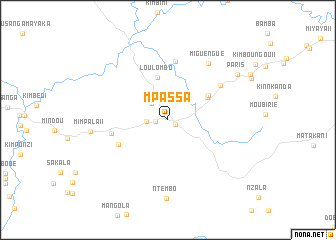 map of Mpassa
