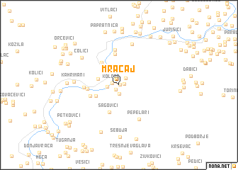 map of Mračaj