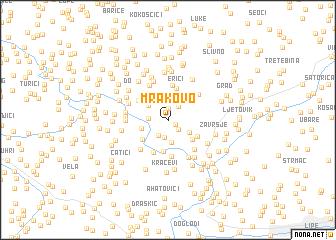 map of Mrakovo
