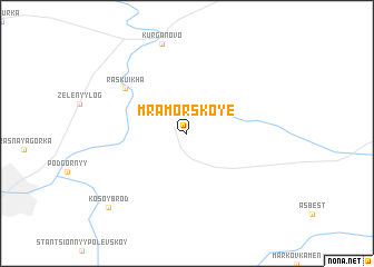 map of Mramorskoye