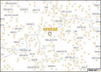 map of Mramor