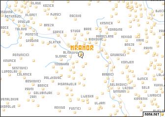 map of (( Mramor ))