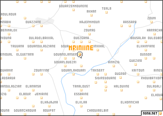 map of Mriniine
