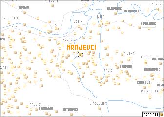 map of Mrnjevci