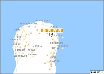 map of Mrouadjou