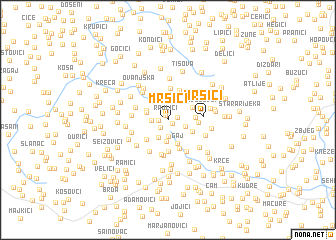 map of Mršići