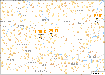 map of Mršići