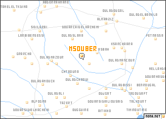 map of Msouber