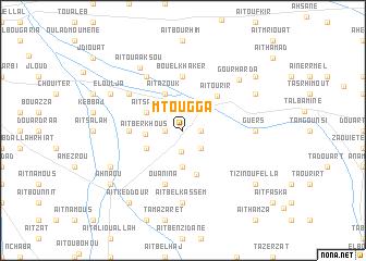 map of Mtougga