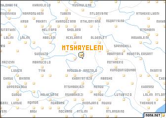 map of Mtshayeleni