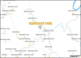 Muang Knthao Laos map nonanet