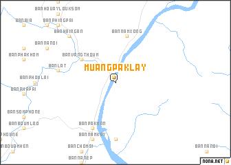 Muang PakLay Laos map nonanet