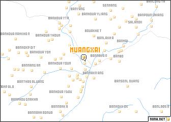 Muang Xai Laos map nonanet