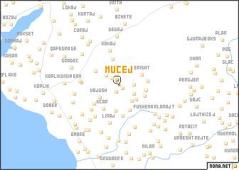 map of Mucej