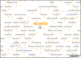 map of Muchnice