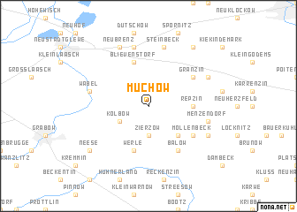 map of Muchow