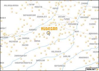 map of Mūdegān