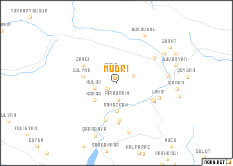 map of Müdri