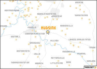 map of Mudsink