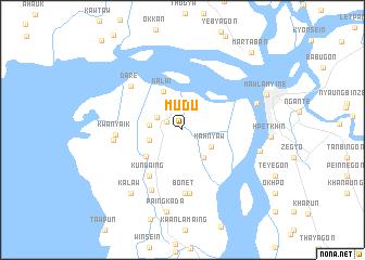 map of Mudu
