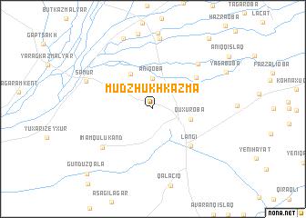 map of Mudzhukh-Kazma