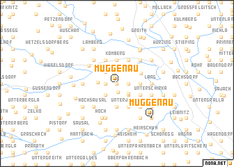 map of Muggenau