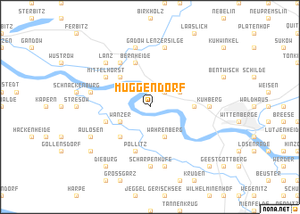 map of Müggendorf