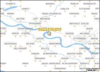 map of Müggendorf