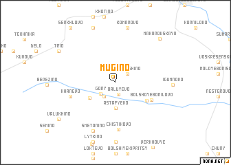 map of Mugino