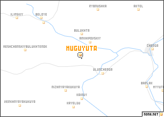 map of Muguyuta