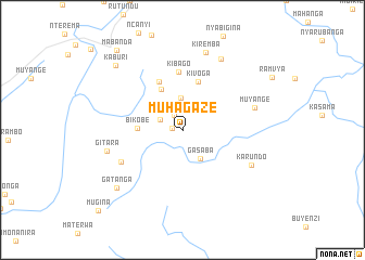 map of Muhagaze