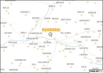 map of Muhamadi