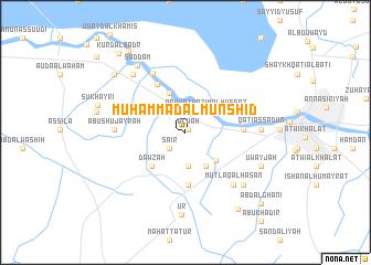 map of Muḩammad al Munshid