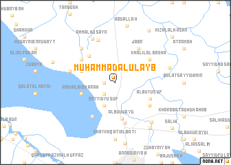 map of Muḩammad al 'Ulayb